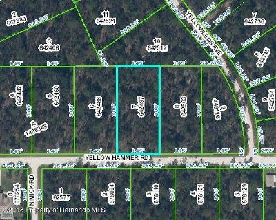 Residential Lots & Land For Sale: Yellow Hammer Road