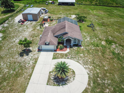 Brooksville Single Family Home For Sale: 11234 Kansas Road