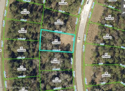 Brooksville FL Residential Lots & Land For Sale: $3,900