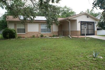 Hernando County Single Family Home For Sale: 6157 Applegate Drive