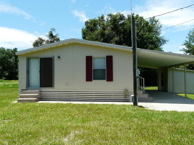 Homosassa Mobile/Manufactured For Sale: 7810 W Twin Canal Lane