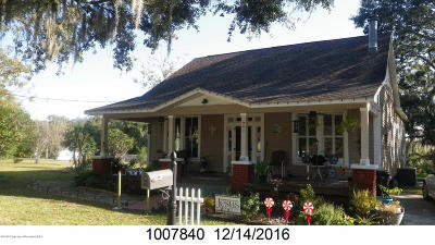 Brooksville Single Family Home For Sale: 941 S Mildred Avenue