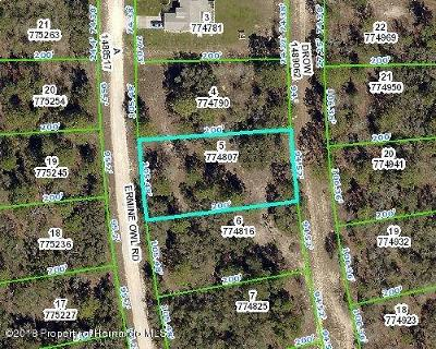 Residential Lots & Land For Sale: Ermine Owl