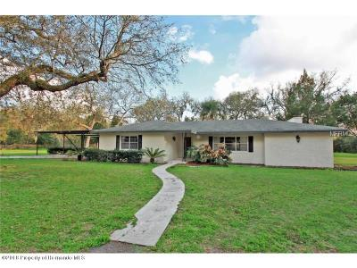 Dade City Single Family Home For Sale: 33300 Rowntree Drive