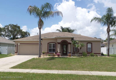 Brooksville Single Family Home For Sale: 15431 Cambria Drive