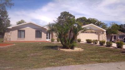 Weeki Wachee Single Family Home For Sale: 7336 Berwick Way