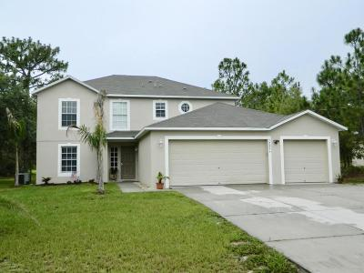 Weeki Wachee Single Family Home For Sale: 12299 Lark Sparrow Road