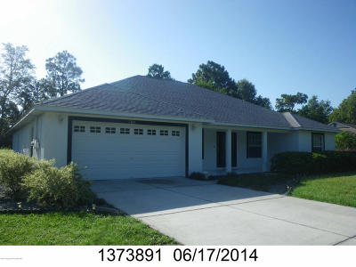 Brooksville Single Family Home For Sale: 7306 Oakado Street