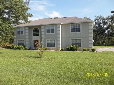 Weeki Wachee FL Single Family Home For Sale: $270,000