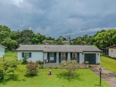 Spring Hill Single Family Home For Sale: 9386 Carthage Road