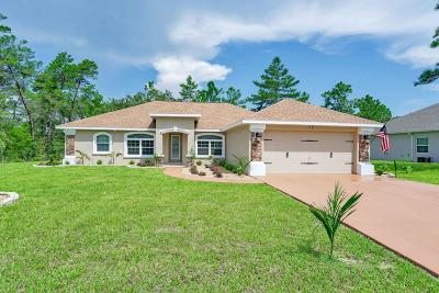 Homosassa Single Family Home For Sale: 10 Vinca Street