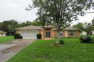 Brooksville Single Family Home For Sale: 15311 Woodcrest Road