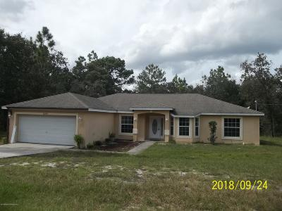 Single Family Home For Sale: 12355 Jaybird Road