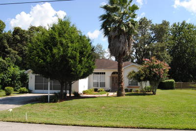 Spring Hill FL Single Family Home For Sale: $147,900