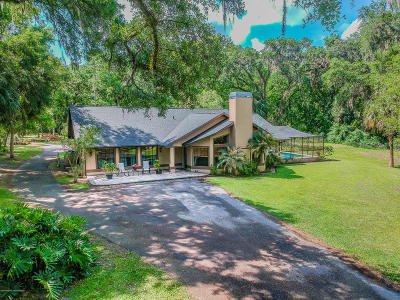 Dade City Single Family Home For Sale: 18587 Hancock Bluff Road