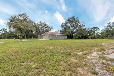 Weeki Wachee Single Family Home For Sale: 15451 Commercial