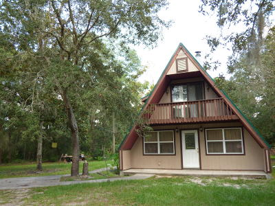 Brooksville Single Family Home For Sale: 12142 Boondocks Drive