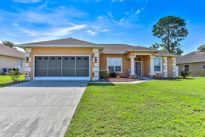 Brooksville Single Family Home For Sale: 15492 Burbank Drive
