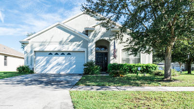 Brooksville Single Family Home For Sale: 14369 Holly Hammock Lane