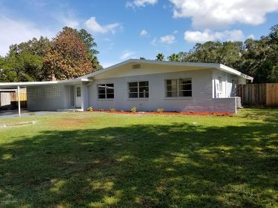 Brooksville Single Family Home For Sale: 309 Longwood Drive