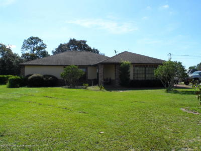 Spring Hill(Pasco) Single Family Home For Sale: 18902 Floralton Drive