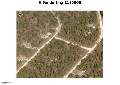 Residential Lots & Land For Sale: Sanderling