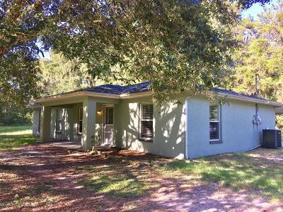 Brooksville Single Family Home For Sale: 13439 Ponce De Leon Boulevard
