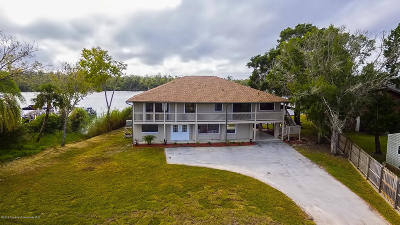 Homosassa Single Family Home For Sale: 10832 W Halls River Road