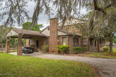 Brooksville Single Family Home For Sale: 26111 Church Road