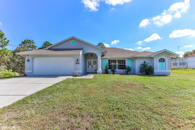 Weeki Wachee Single Family Home Active - Under Contract: 8026 Nightwalker Road