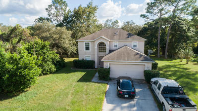 Spring Hill Single Family Home For Sale: 2284 Meadow Lark Road