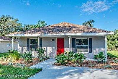 Ridge Manor Single Family Home For Sale: 4349 Pocahontas Drive