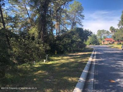 Spring Hill Residential Lots & Land For Sale: Sylvan Glade Court