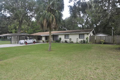 Brooksville Single Family Home For Sale: 1535 Sabra Drive