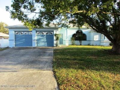 Spring Hill Single Family Home For Sale: 4396 Gaston Street