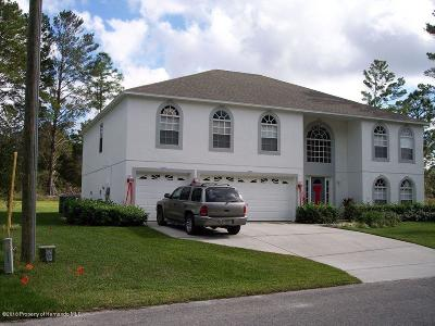 Homosassa Single Family Home For Auction: 13 Lindwood Court