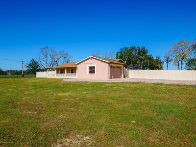 Spring Hill(Pasco) Single Family Home For Sale: 20201 Bowman Road
