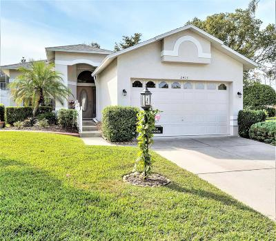 Spring Hill Single Family Home For Sale: 2413 Fairskies Drive