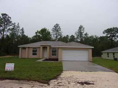 Weeki Wachee Single Family Home For Sale: 13134 Snowy Plover Avenue