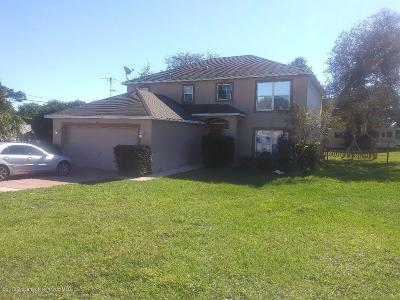 Spring Hill Single Family Home For Sale: 7244 Tranquil Drive