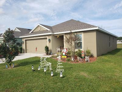 Brooksville Single Family Home For Sale: 30875 Water Lily Drive