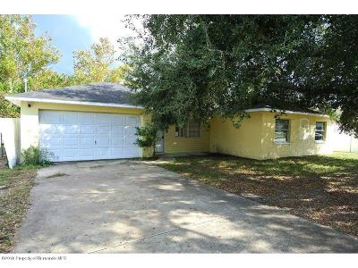 Spring Hill Single Family Home For Sale: 6623 Freeport Drive