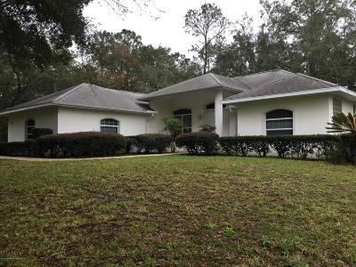 Hernando Single Family Home For Sale: 1192 W Redding Street