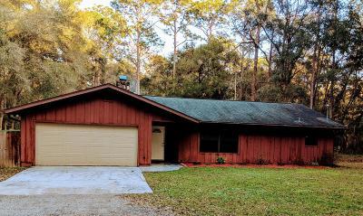 Brooksville Single Family Home For Sale: 16096 Seminole Boulevard