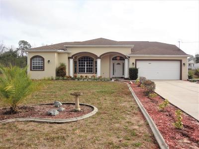 Brooksville Single Family Home For Sale: 8050 Grant Street