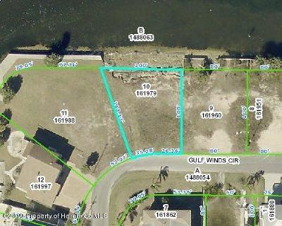 Hernando Beach Residential Lots & Land For Sale: Gulf Winds Circle