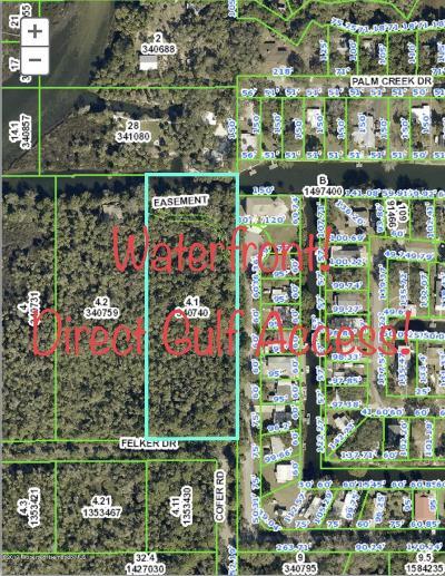 Weeki Wachee Residential Lots & Land For Sale: Felker/Colony/Cofer Drive
