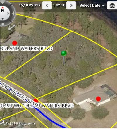 Residential Lots & Land For Sale: Woodland Waters Boulevard