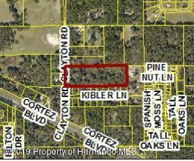 Brooksville Residential Lots & Land For Sale: 7132 Clayton Road