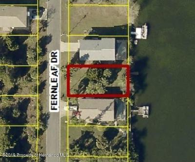 Hernando Beach Residential Lots & Land For Sale: Fernleaf Drive